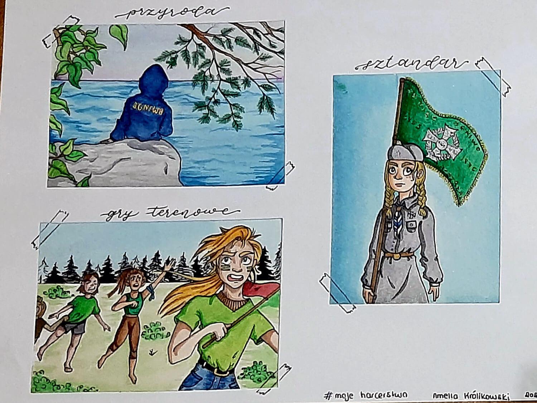 Rysunek Amelki