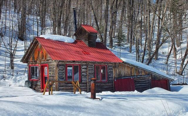 cabane a sucre hut