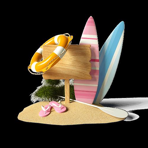 plaza surfing